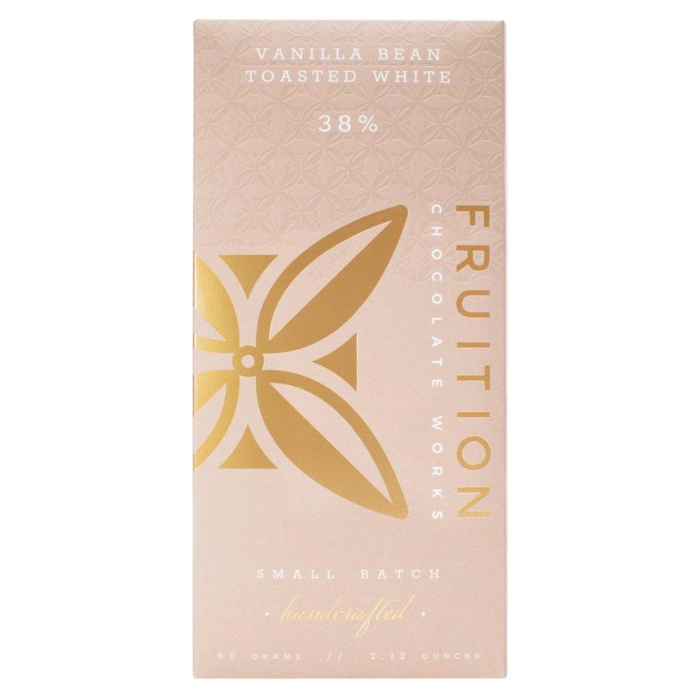 Fruition Vanilla Bean Toasted White Chocolate Bar