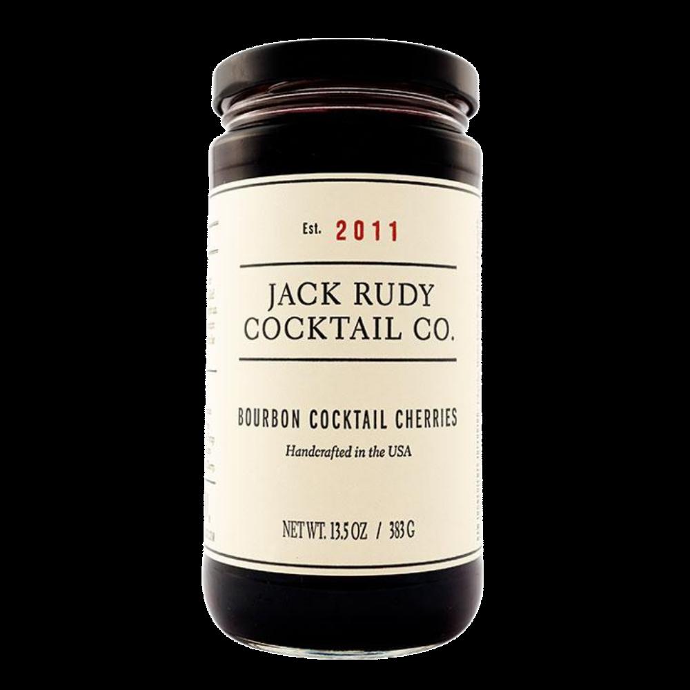 Jack Rudy Bourbon Cocktail Cherries Jar