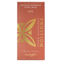 Fruition Hudson Bourbon Dark Milk Chocolate Bar