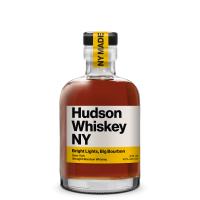 Hudson Whiskey NY Bright Lights, Big Bourbon 375mL bottle front