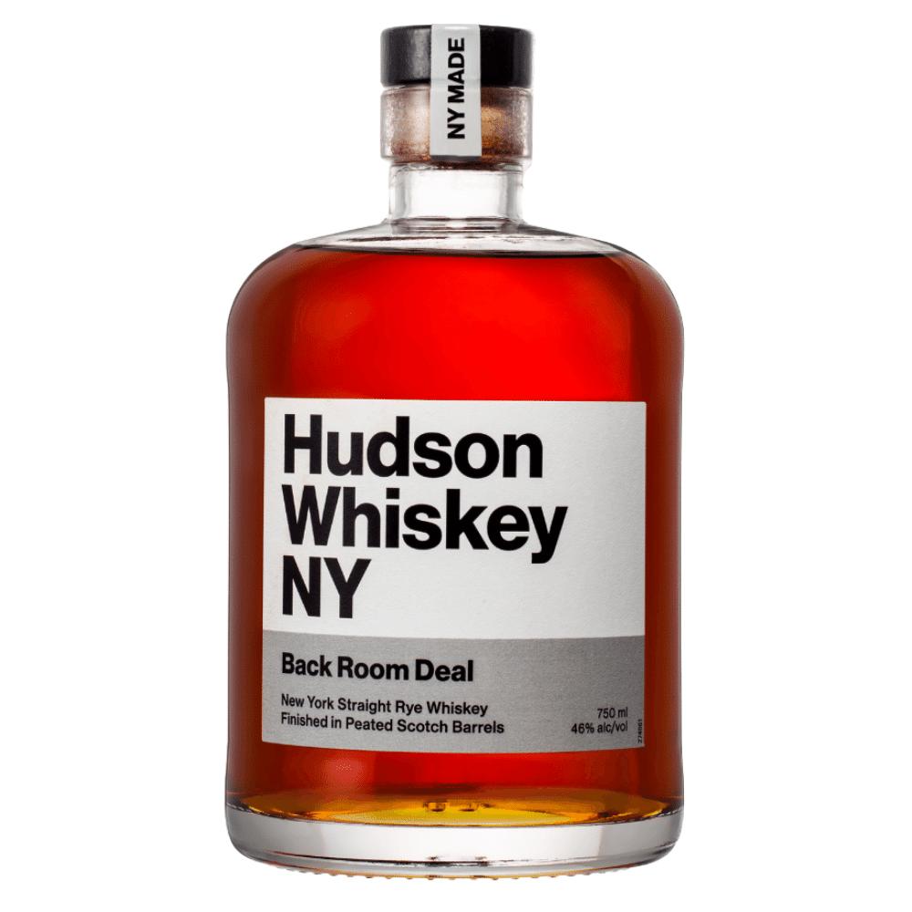 Hudson Whiskey NY Back Room Deal 750ml Front Label