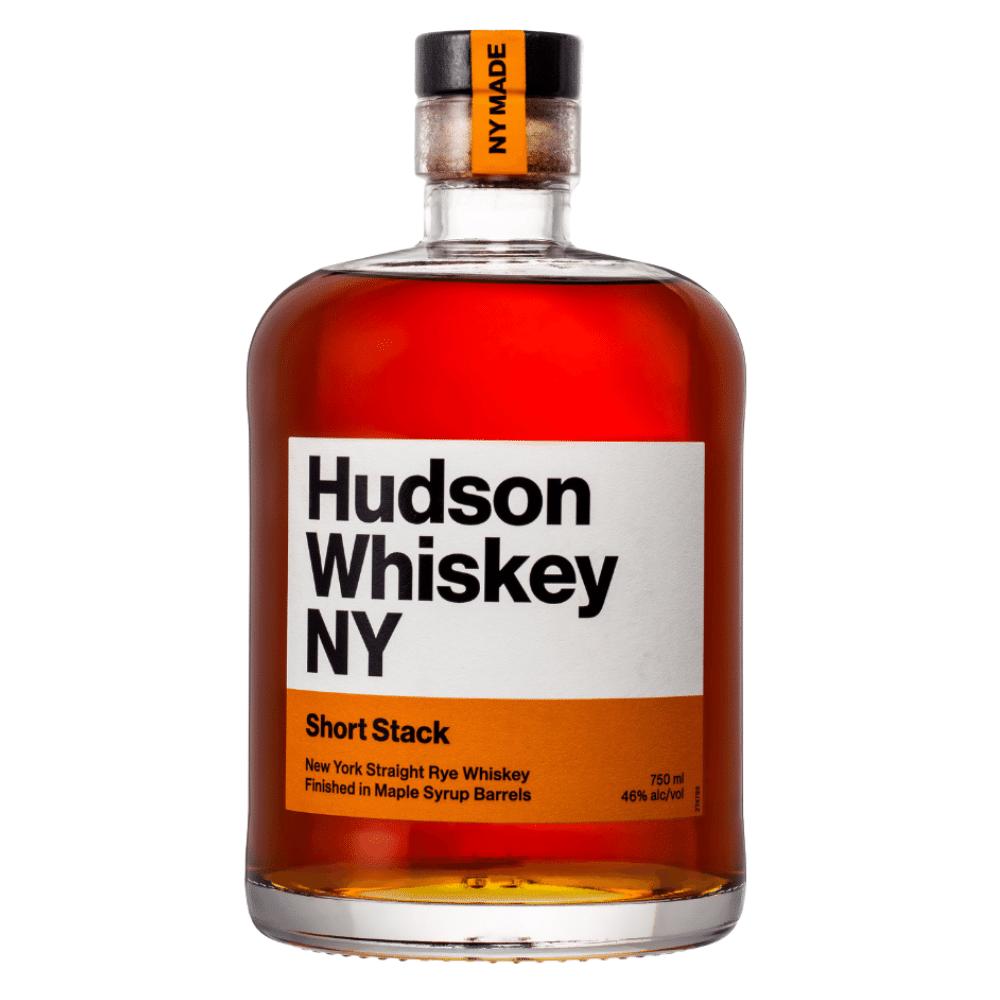 Hudson Whiskey NY Short Stack 750mL Front Label