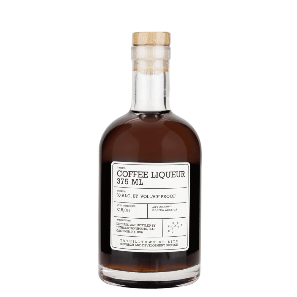 Tuthilltown Coffee Liqueur 375ml Front Label