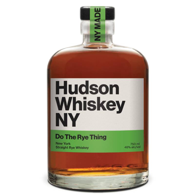 Hudson Whiskey NY Do The Rye Thing 750mL bottle front