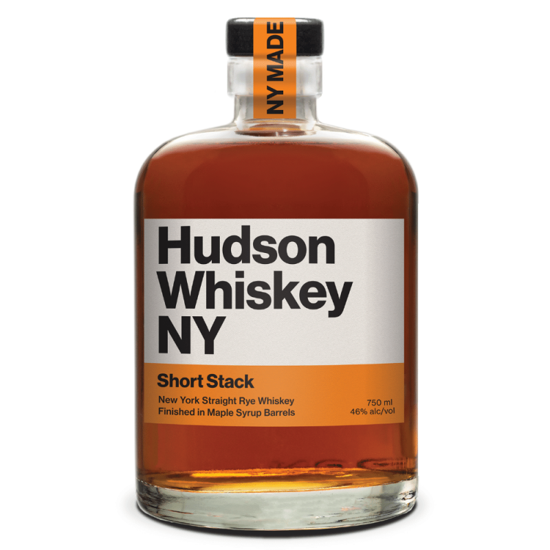 Hudson Whiskey NY Short Stack 750mL bottle front