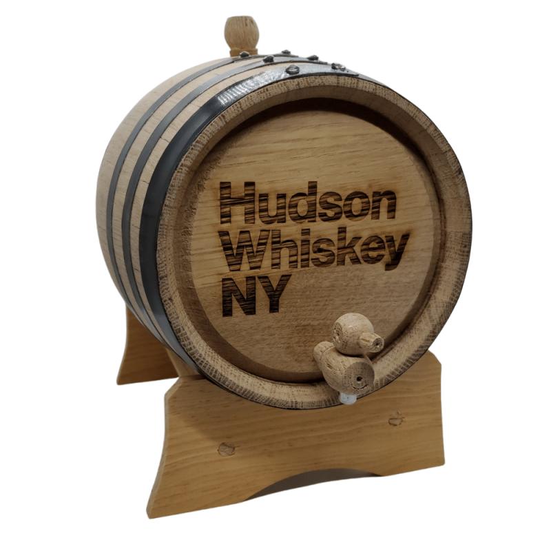 Hudson Whiskey Cocktail Aging Barrel 5L Front